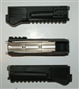 Russian Black AK9 type polymer railed handguard