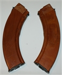 Russian Molot RPK 7.62x39 bakelite 40 round magazines with circle