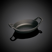 "Staub Mini Oval Dish, 8oz, 5 ½ "", Black Matte"