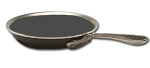 "8"" x 1 7/8"" LTD Non-Stick Frying Pan, cookware made in USA"