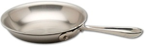 "10 x 2"" All-Clad® Stainless 3-Ply Bonded Frying Pan, cookware made in USA"