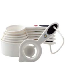 OXO Good Grips Soft Handled White Measuring Cups