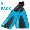 Fluyd Long Trainer Fin Five-Pack