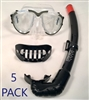5 PACK Canam Starter Mask and Snorkel Kit