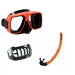 Orange Spirit 2 Mask w/ snorkel