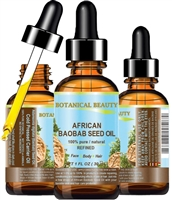 Botanical Beauty African BAOBAB SEED Oil 100% Pure