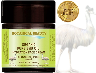 ORGANIC EMU OIL HYDRATION FACE CREAM