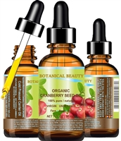 Botanical Beauty ORGANIC CRANBERRY OIL
