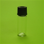 "Vial, (2mL, 12x32)Open Top Screw Cap, PTFE/Sil (.060"") Septa"