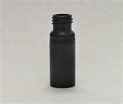 BLACK VIAL, 1.5mL, 12x32, Screw Top, 9mm Finish, PP, XPERTEK 100/pk