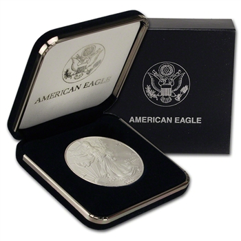 2000 American Silver Eagle in U.S. Mint Gift Box