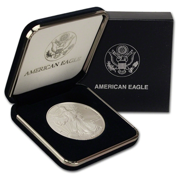 2003 American Silver Eagle in U.S. Mint Gift Box