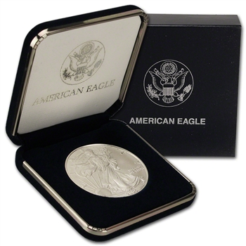 2005 American Silver Eagle in U.S. Mint Gift Box