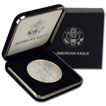 2006 American Silver Eagle in U.S. Mint Gift Box
