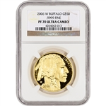 2006-W American Gold Buffalo Proof (1 oz) $50 - NGC PF70UCAM