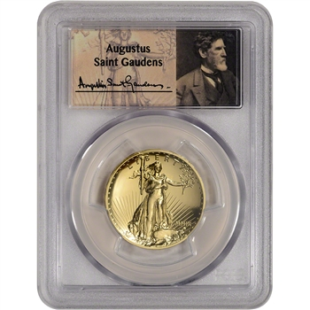 2009 US Gold $20 Ultra High Relief Double Eagle - PCGS MS70 PL  St Gaudens Label
