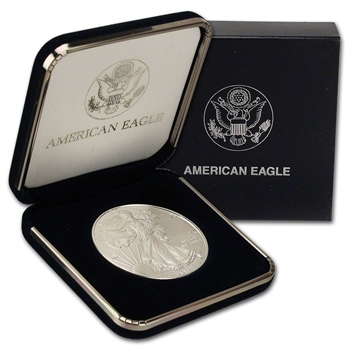 2011 American Silver Eagle in U.S. Mint Gift Box