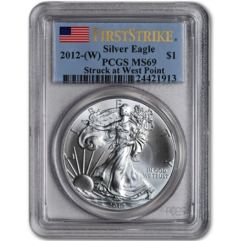 2012-(W) American Silver Eagle - PCGS MS69 - First Strike