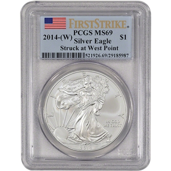2014-(W) American Silver Eagle - PCGS MS69 - First Strike