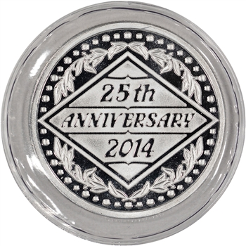 2014 Silver 1 oz. Medallion - 25th Anniversary