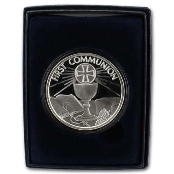 2014 Silver 1 oz. Medallion - First Communion in Giftbox