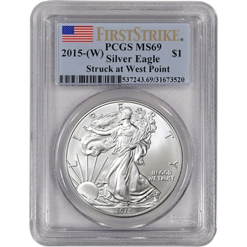 2015-(W) American Silver Eagle - PCGS MS69 - First Strike