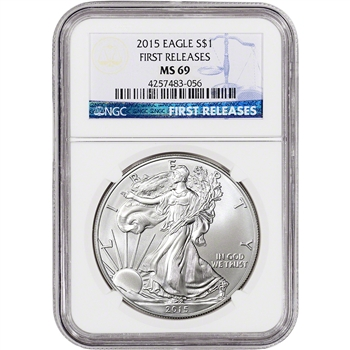 2015 American Silver Eagle - NGC MS69 - First Releases