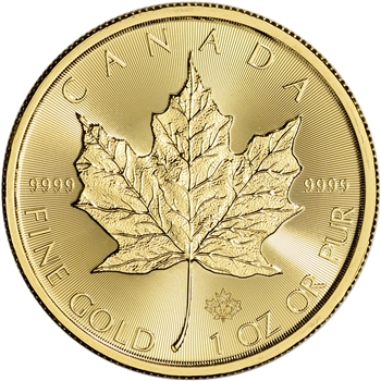 2016 Canada Gold Maple Leaf - 1 oz - $50 - BU