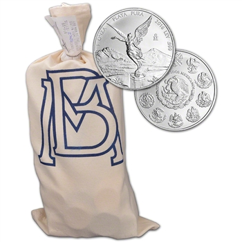 2016 Mexico Silver Libertad (1 oz) 1 Onza - BU - 1 Bag - Sealed 450 Coin Bag