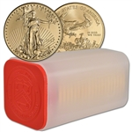 2017 American Gold Eagle (1 oz) $50 - 1 Roll - Twenty 20 BU Coins in Mint Tube