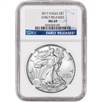 2017 American Silver Eagle - NGC MS69 - Early Releases