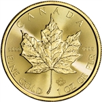 2018 Canada Gold Maple Leaf 1 oz $50 - BU