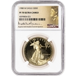 1988-W American Gold Eagle Proof 1 oz $50 - NGC PF70 UCAM St Gaudens Label