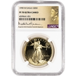 1990-W American Gold Eagle Proof 1 oz $50 - NGC PF70 UCAM St Gaudens Label