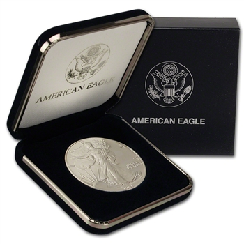 1991 American Silver Eagle in U.S. Mint Gift Box