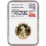 1994-W American Gold Eagle Proof 1/2 oz $25 - NGC PF70 UCAM Castle Signed