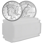 1 oz. Highland Mint Silver Round - Peace Dollar Design (Lot, Roll, Tube of 20)