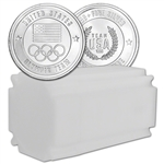 1 oz Silver Round US Olympic Committee Team USA 999 Fine (Lot, Roll, Tube of 20)