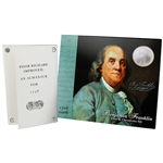 2006 US Benjamin Franklin Coin & Chronicles Set