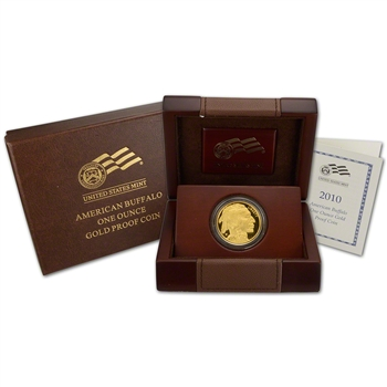 2010-W American Gold Buffalo Proof (1 oz) $50