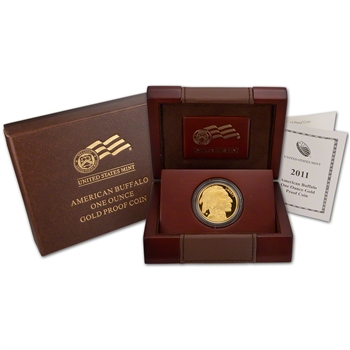 2011-W American Gold Buffalo Proof (1 oz) $50
