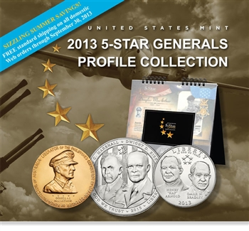 2013 US 5-Star Generals Profile Collection (5G8)