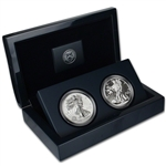 2013 American Silver Eagle West Point Two-Coin Set