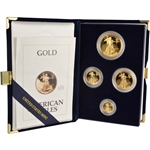 1993 American Gold Eagle Proof Four-Coin Set