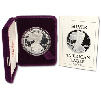 1989-S American Silver Eagle Proof