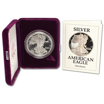 1991-S American Silver Eagle Proof