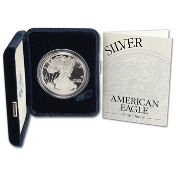2002-W American Silver Eagle Proof