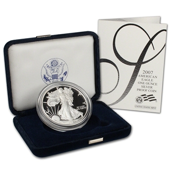 2007-W American Silver Eagle Proof