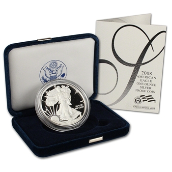 2008-W American Silver Eagle Proof