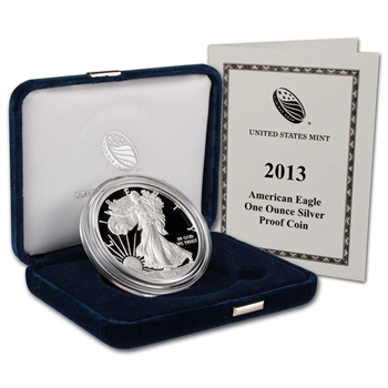 2013-W American Silver Eagle Proof